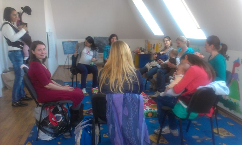 Grup de suport in alaptare La Leche League Brasov